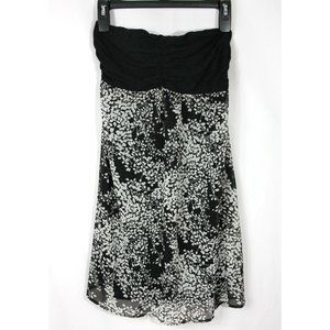 NWT Express Floral Sleeveless Mini Dress Top
